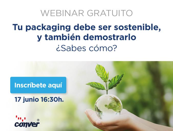 Webinar: Tu packaging debe ser sostenible y también demostrarlo ¿Sabes cómo?