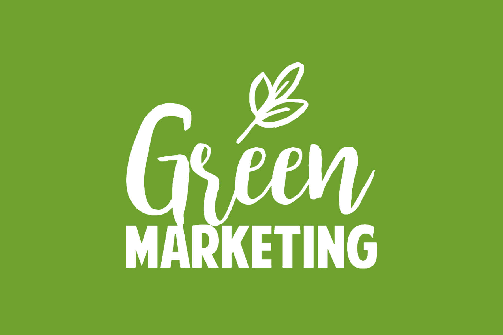 ¿Qué entendemos por marketing ecológico?